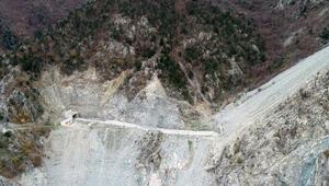 İlçenin taşınacağı yeni yerleşim yerine tünellerle ulaşılacak