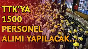 Türkiye Taşkömürü Kurumuna (TTK) 1500 personel alımı yapılacak... Başvurular nasıl yapılacak