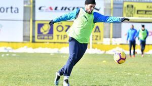 Ankaragücünde Demir Grup Sivasspor maçı hazırlıkları