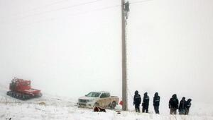 Enerji Timleri zorlu kış şartlarında 7/24 görev başında