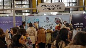 İstanbul Kent Üniversitesi, eğitim ve kariyer tanıtım günlerine katıldı