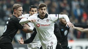 Beşiktaş Avrupaya evinde veda etti