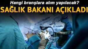 Sağlık Bakanlığı 25 bin personel alımı yapacak | Başvuru şartları ve tarih belli oldu mu