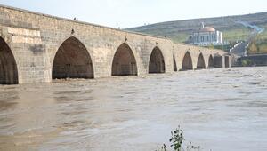 Diyarbakırda su seviyesi yükseldi
