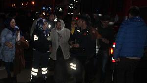 Korku dolu anlar: 31 kişi hastaneye kaldırıldı