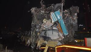 Ankaradaki Yüksek Hızlı Tren kazasında enkaz kaldırma çalışmaları tamamlandı