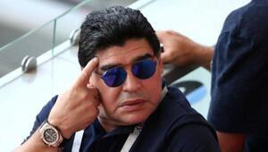 Maradonaya büyük şok Efsane bunu da gördü...