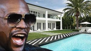 Floyd Mayweatherın 10 milyon dolarlık müthiş malikanesi