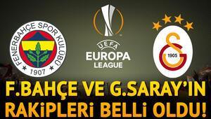 Son dakika... UEFA Avrupa Ligi kura çekiminde Fenerbahçe ve Galatasarayın rakipleri belli oldu