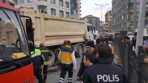 Rize'de harfiyat kamyonu dehşeti
