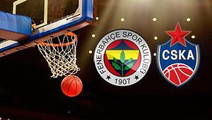 Fenerbahçe Beko CSKA Moskova Euroleague maçı bu akşam saat kaçta hangi kanalda canlı olarak yayınlanacak