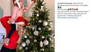 Onlar da Noel ağacı süsledi