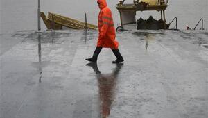 Son dakika: İstanbulda yağış ve fırtına Bazı İDO ve BUDO seferleri iptal...