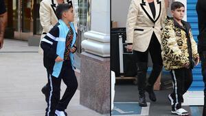 3 bin dolarlık mont giydi, bakışları değişti