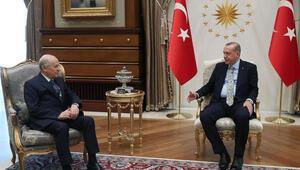 İki lider tekrar görüşecek mi Bahçeliden flaş sözler