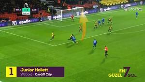 Adada haftanın golü Junior Hoilettden