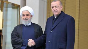 Son dakika... İran Cumhurbaşkanı Ruhani Beştepede...