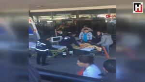 Tıp fakültesi hastanesinin diyaliz bölümünde yangın