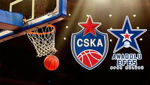 CSKA Moskova Anadolu Efes basket maçı ne zaman saat kaçta hangi kanalda
