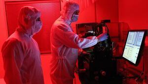 Milli uydunun sensörleri NÜRDAMda üretilmeye başlandı