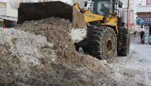 Vanda kar yağışı durdu, yol açma çalışmaları başladı