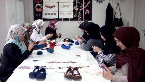 Hilvanda, meslek edindirme kurslarına kadınlardan büyük ilgi