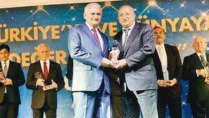 Türkiye ve dünyaya değer katanlara ödül