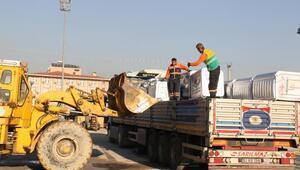 Akdeniz Belediyesi'ne yeni çöp konteynırı