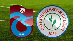 Trabzonspor Çaykur Rizespor maçı ne zaman saat kaçta hangi kanalda Muhtemel 11