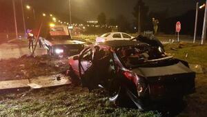Samsunda kaza: 1 ölü, 7 yaralı