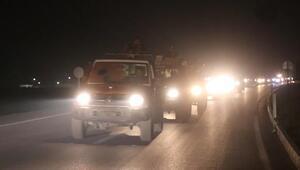 Suriyeli muhalifler Münbiçteki cephe hatlarına gidiyor