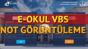 E Okul VBS girişi nasıl yapılır E Okul not görüntüleme ekranı