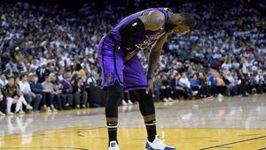 LeBron sakatlandı ama Lakers son şampiyonu yendi