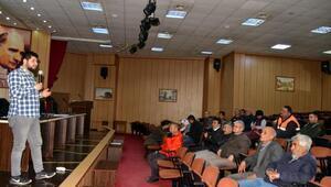 Belediye personele iş güvenliği eğitimi