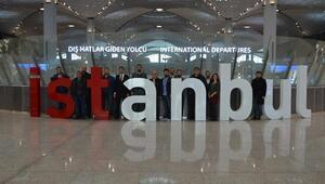 Ankaralı acenteler havalimanını gezdi