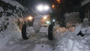 Trabzon ve Giresunda eğitime kar engeli