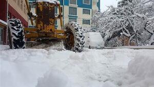 Gümüşhane'de dün açılan köy yolları tekrar ulaşıma kapandı