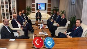 Bakan Selçuk, Türk Eğitim-Sen Genel Başkanı Geylan ile görüştü