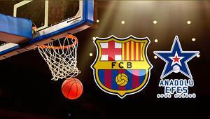 Barcelona Lassa Anadolu Efes maçı bu akşam saat kaçta hangi kanalda canlı yayınlanacak THY Avrupa Ligi