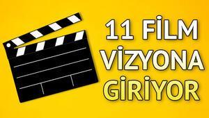 Sinemada bu hafta hangi filmler var Bu hafta 11 film vizyona girecek