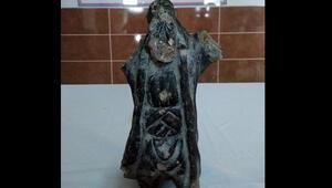 Eskişehir'de kral heykeli ele geçirildi