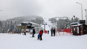 Ilgaz Dağında kayak sezonu açıldı