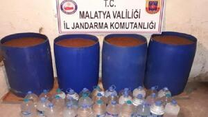 Malatyada kaçak içki operasyonu: 5 gözaltı