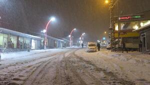 Başkalede okullara kar tatili
