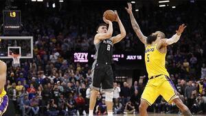 Bogdanovic, son saniyede Lakersı yıktı