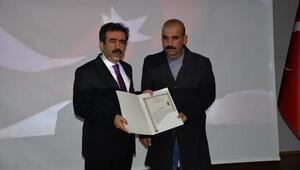Diyarbakırda teröristleri etkisiz hale getiren güvenlik güçlerine başarı belgesi