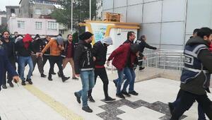 Ordunun 3 ilçesindeki uyuşturucu operasyonunda 15 tutuklama