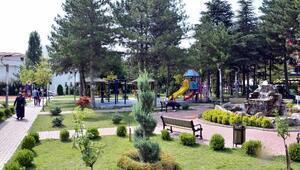 Kahramankazan'da parklar artık daha güvenli