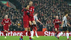 Liverpool 4-0 Newcastle United (MAÇ ÖZET)