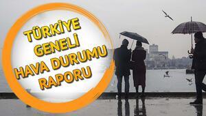 İstanbulda hafta sonu hava durumu nasıl olacak İşte meteorolojiden gelen hava tahminleri